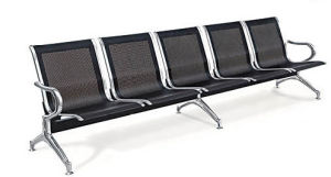 Stainless Steel Bank Hospital Airport Public Waiting Bench Chair (HX-PA61) pictures & photos