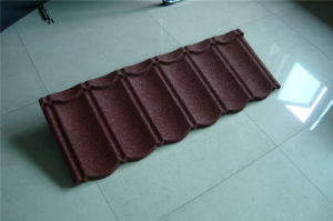 Galvanized Steel Sheet Stone Coated Steel Tile Mtetal Roofing Material pictures & photos
