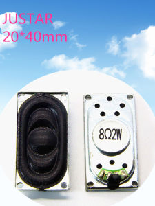 20*40mm 4-8ohm 0.25-2W Cloth Speaker with RoHS pictures & photos