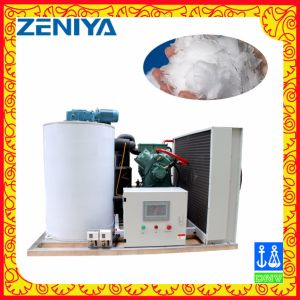 Medium Size Stainless Steel Flake Ice Machine/Maker with Good Quality pictures & photos