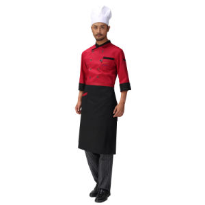 100% Cotton Restaurant Waiter Apron with Pockets pictures & photos
