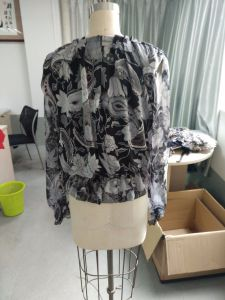 Fashion Loose Long Sleeve Latest Fairies Print Ladies Clothes pictures & photos