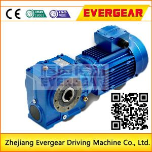 S Series Worm Helical Gear Motor Reducer pictures & photos