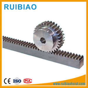 Construction Hoist Starter Pinion G60 Steel Gear Rack pictures & photos
