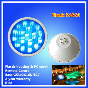54W IP68 RGB LED PAR56 Underwater Swimming Pool Light pictures & photos