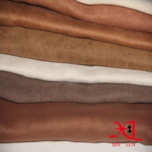 100%Polyester Suede Fabric for Upholstery/Sofa/Cloth/Dress pictures & photos
