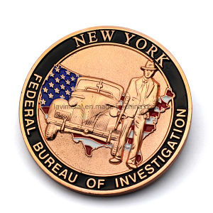 Custom Souvenir Copper Coin for USA Fbi pictures & photos