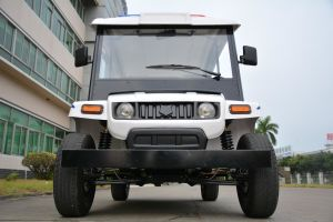 Long Maximum Mileage 4 Wheel Intra Field Electric Patrol Car Cruiser pictures & photos