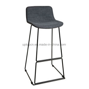 Modern Fabric Armless High Bar Chair with Painting Frame (SP-HBC249) pictures & photos