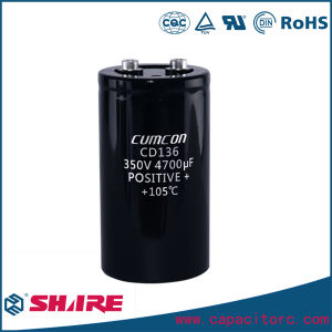 680UF 400V Aluminum Electrolytic Capacitor pictures & photos