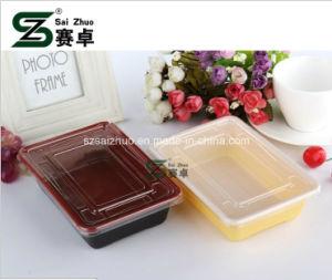 600ml Rectangular Disposable Plastic Bento Box pictures & photos