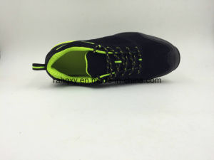 Green Mesh Suede Leather Sports Working Shoes (16077) pictures & photos