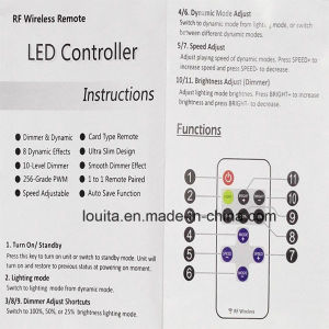 Mini RF Controller for LED Single Color Strip pictures & photos