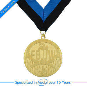 China Custom Award Medallion with Ribbon pictures & photos