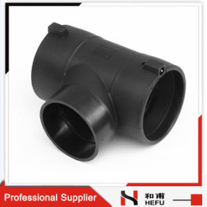 Weldable Black 3 Way Waste Water Pipe Elbow pictures & photos