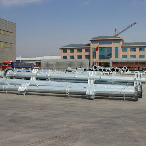 10kv Galvanizing Steel Pipe Tower pictures & photos