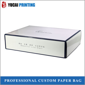 350g White Cardboard Box Gift Box with Glossy Lamination pictures & photos