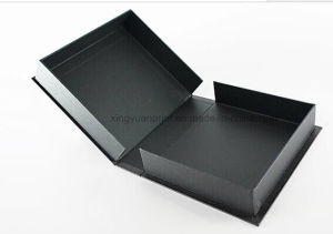 Black Paper Box/Packing Box/Jewelry Box /Folding Box pictures & photos