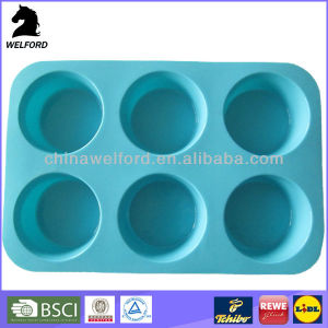 BSCI Audit Non Stick Cake Maker Silicone Cake Mould pictures & photos