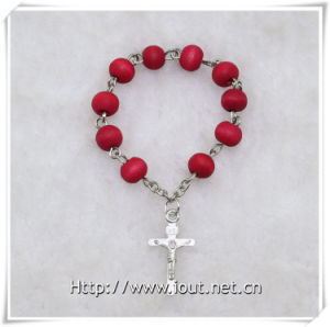 Wooden Beads Finger Rosary with Cross, Wooden Finger Rosary (IO-ce085) pictures & photos