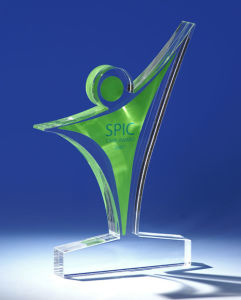 Customize New Clear Acrylic Trophy Event Award Trophy pictures & photos