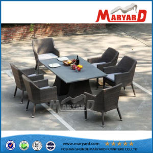 PE Wicker Leisure Dining Table Set pictures & photos