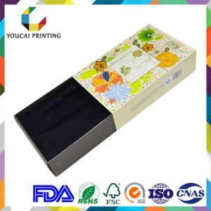 Colorful Cmyk Offset Printing Cosmetic Paper Box for Cream Bottle Hot Foil Characters pictures & photos