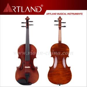 Economic Hand Made Violin (AV200) pictures & photos