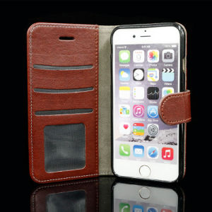 Wholesale PU Leather Protective Phone Case/Cover with Card Holder pictures & photos