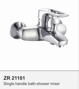 Modern Chrome Brass Faucet Bath Tub Mixer Tap pictures & photos