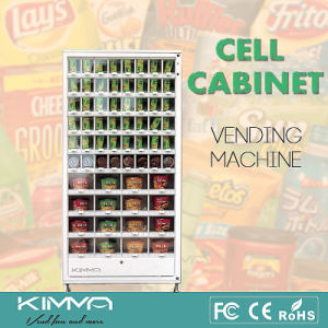64 Cells Lockers Cell Cabinet Vending Packed Items pictures & photos
