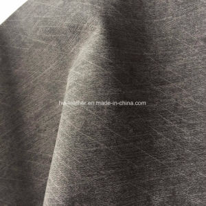 Cloth Imitating Fabric PU Leather for Shoes Bags Hx-S1714 pictures & photos