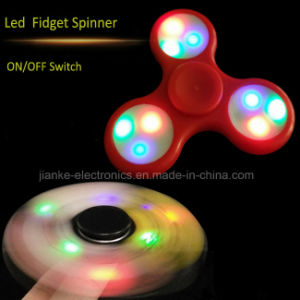2017 Top Selling LED Hand Fidget Spinner (6000B) pictures & photos