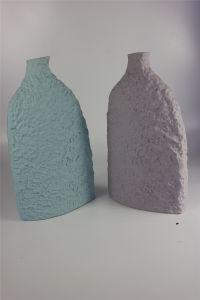 Flat Creative Color Glaze Handmade Vase Ornaments pictures & photos