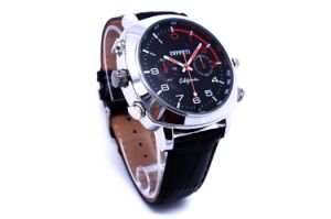 HD 1080P Mini Size Waterproof Watch DV DVR Video and Audio Recording Camera Watch pictures & photos