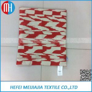 Wholesale Custom Printed Red Linen Cushion Cover 30X30 pictures & photos