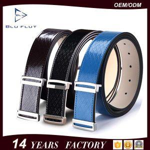 Classical Design Fashion Men′s Grain Leather Dress Waist Belts pictures & photos