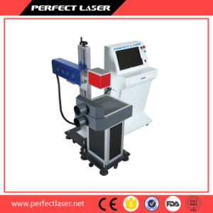 Wood Jeans Bottle Glass Engraving Laser Marking Machine with Ce SGS FDA pictures & photos