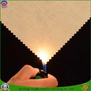 Home Textile Coated Waterproof Fr Blackout Woven Polyester Curtain Fabric pictures & photos
