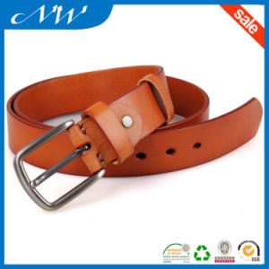 Fashion Vegetable Leather Belt for Mens Cheap Belt