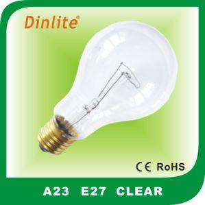 A23 E27 incandescent bulb pictures & photos