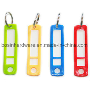 Colorful Plastic Long Key Tag Luggage Tag pictures & photos