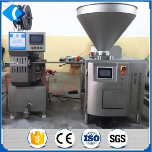 Servo Motor and PLC Control Vacuum Sausage Filler Machine pictures & photos