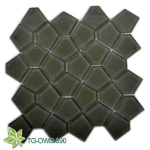 Dark Green Glass Mosaic Pentagon (TG-OWD-890) pictures & photos