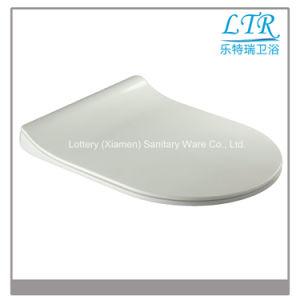 European Standard Round White Quick Release Toilet Seat pictures & photos