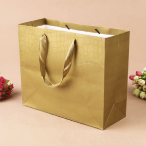 Promotional Paper Gift Bag /Garment Carrier Bag with Handle pictures & photos