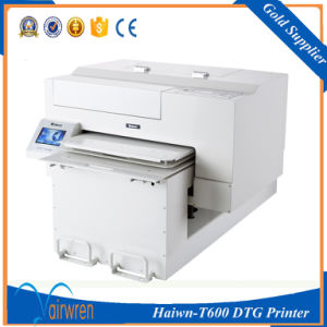 Large Format DTG Printer Jeans Jacket T Shirt Printing Machine Haiwn-T600 pictures & photos