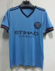 New York City Home Blue Soccer Kits pictures & photos