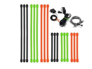 Flexible Silicone Cable Reusable Rubber Twist Tie pictures & photos