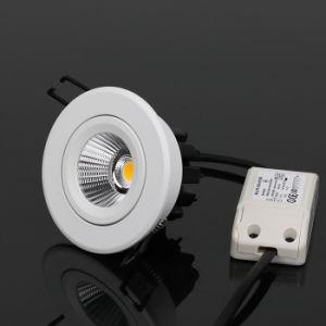 Aluminium Recessed LED COB Downlight 12W pictures & photos